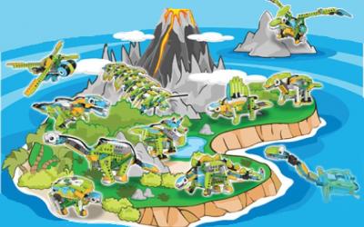 Lego Camp Călătorie în lumea Dino